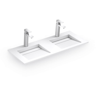 2 Tap Hole Wall-Hang Basin